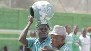Gor Mahia fans came in large numbers to cheer their team in the season's curtain raiser played at Afraha Stadium in Nakuru