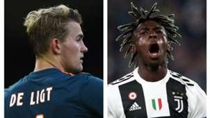 De Ligt Kean - Juventus
