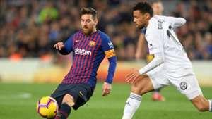 Lionel Messi, Francis Coquelin, Barcelona vs Valencia