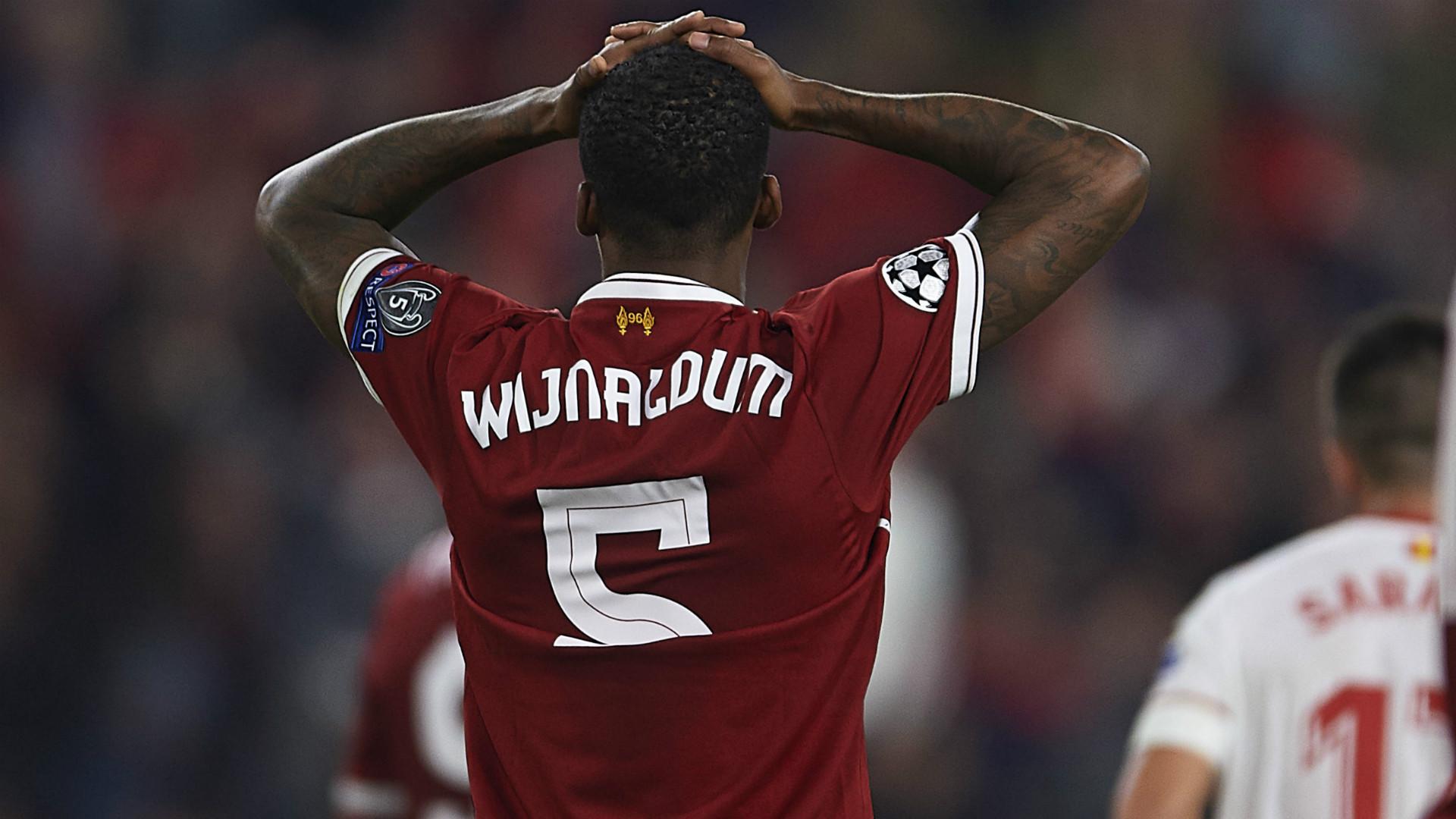 Wijnaldum Liverpool v Sevilla