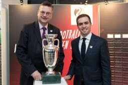 Reinhard Grindel & Philipp Lahm - Germany bid to host EURO 2024