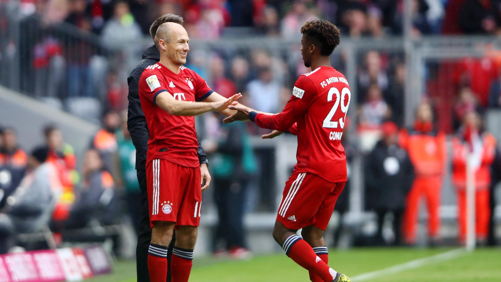 Arjen Robben Comeback Coman Bayern 0519