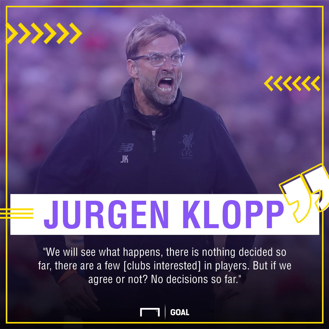 Jurgen Klopp Liverpool January sales