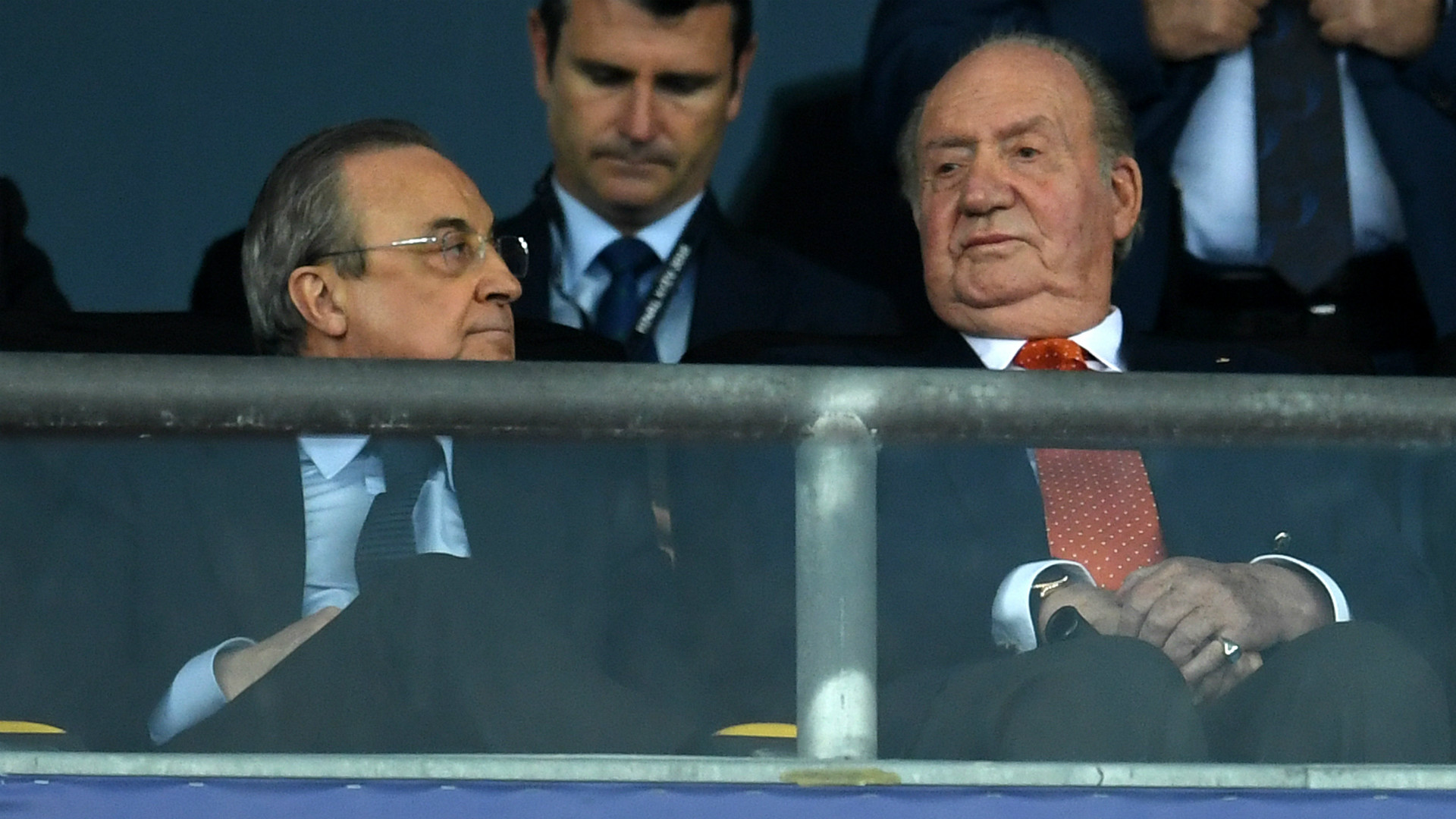 Florentino Perez Juan Carlos I Real Madrid Liverpool UEFA Champions League Final