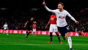 Christian Eriksen Tottenham Manchester United