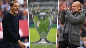 Thomas Tuchel Champions League Pep Guardiola
