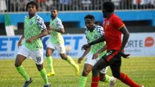 Alex Iwobi, Ahmed Musa - Nigeria vs. Uganda