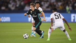 Luka Modric Real Madrid Al Jazira Club World Cup 13122017
