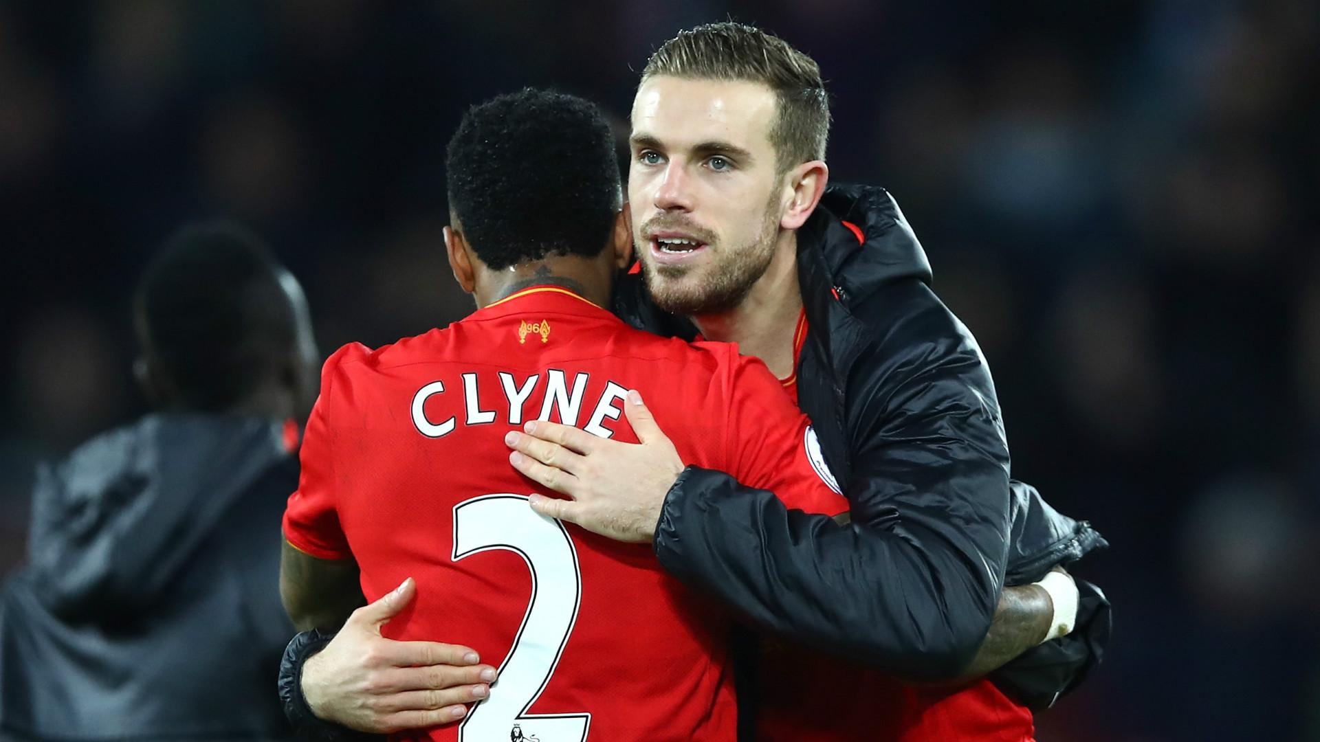 Nathaniel Clyne Jordan Henderson Liverpool Premier League