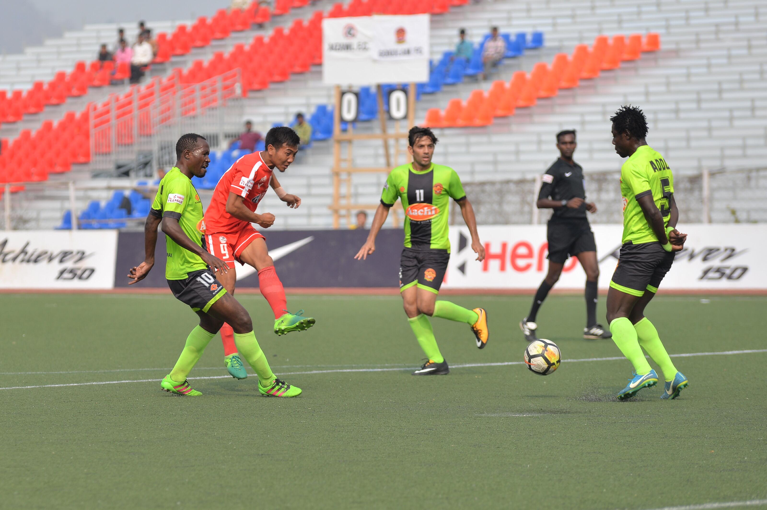 Aizawl FC v Gokulam Kerala; I-League 2017-18
