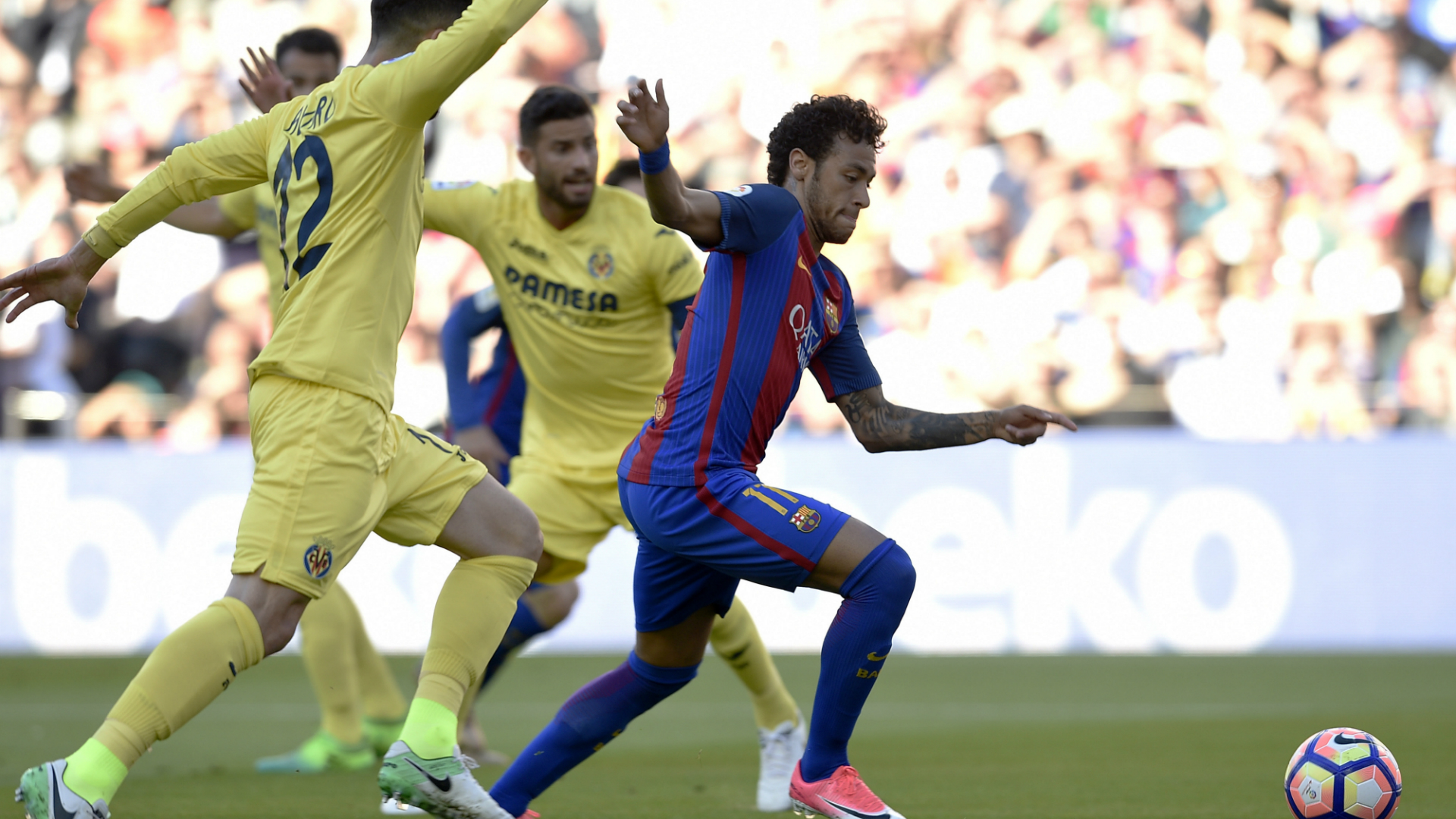 Neymar Barcelona Villarreal LaLiga 06052017