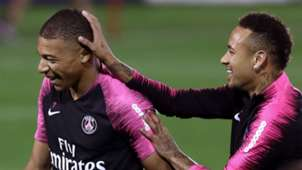 Neymar Kylian Mbappe Paris Saint-Germain January 2019