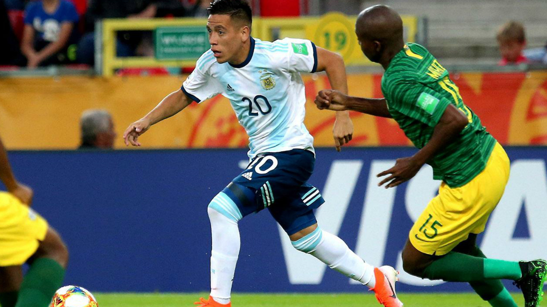 Ezequiel Barco Argentina South Africa U20 World Cup 2019