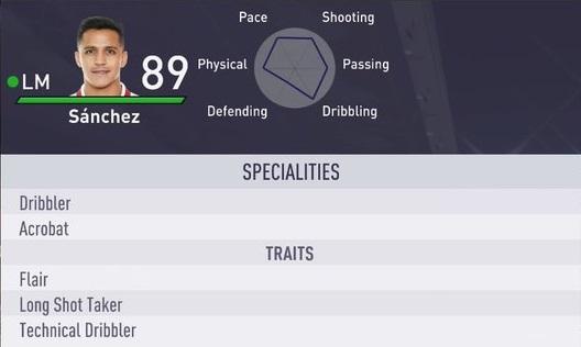 FIFA 18 Alexis