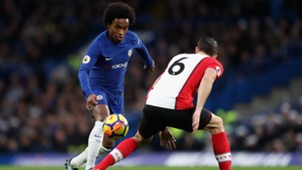 Willian Chelsea Southampton