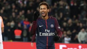 Neymar Paris Saint-Germain 10012018