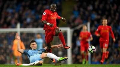 Sadio Mane Liverpool John Stones Manchester City