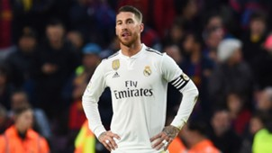 Sergio Ramos Real Madrid Barcelona 281018