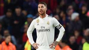 Sergio Ramos Real Madrid Barcelona 281018