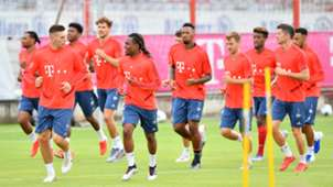 FC Bayern Training Bundesliga 2019