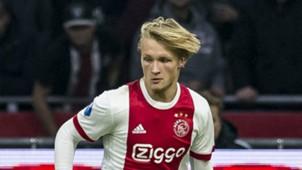 Kasper Dolberg, Ajax - Willem II, Eredivisie 12242018