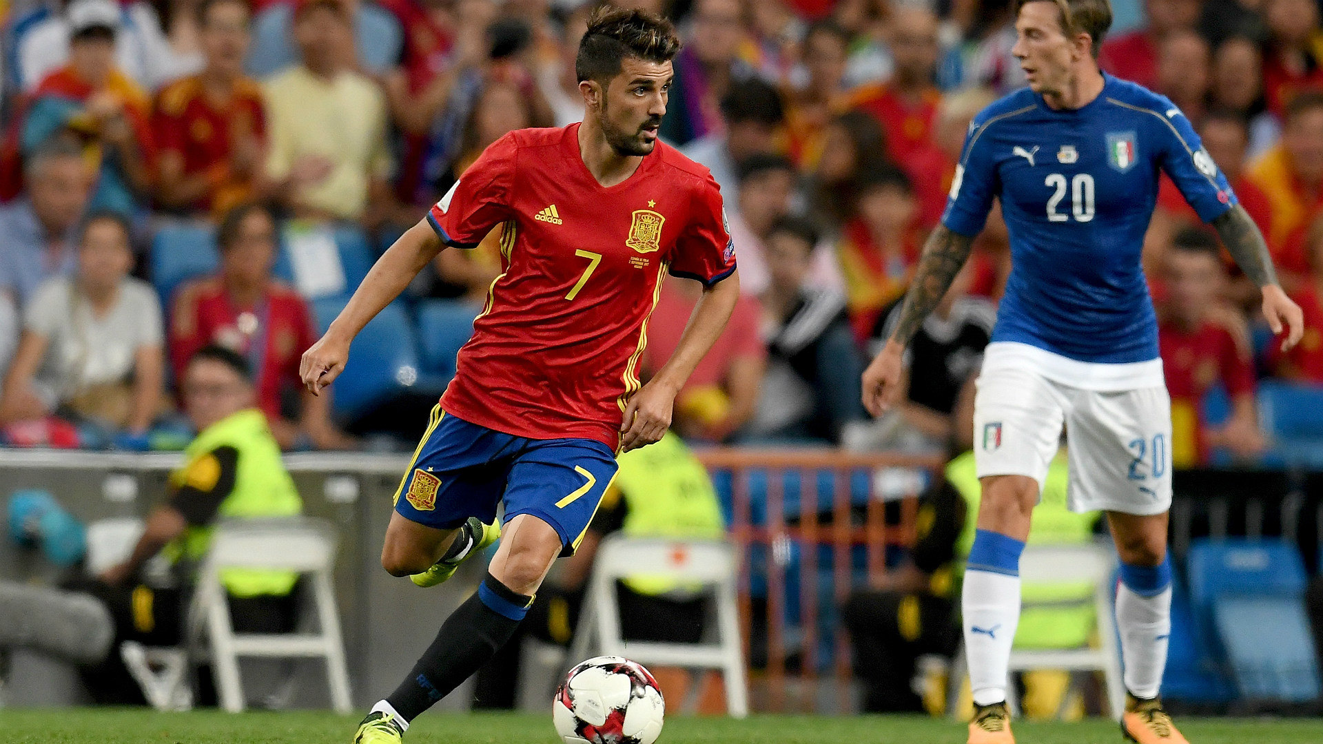 David Villa Spain