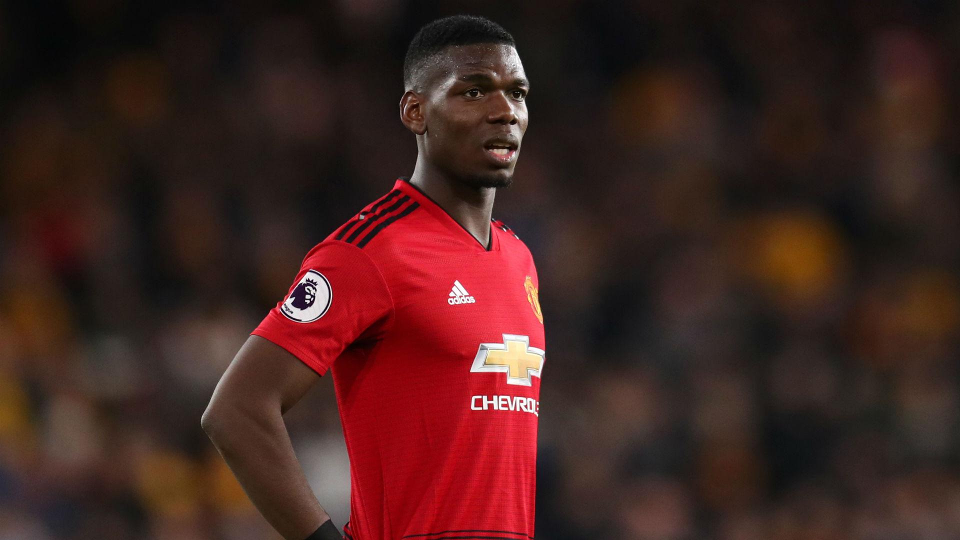 Paul Pogba Manchester United Wolves Premier League 2019