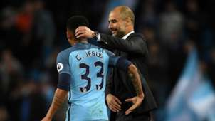 Gabriel Jesus Pep Guardiola Manchester City Manchester United Premier League 27042017