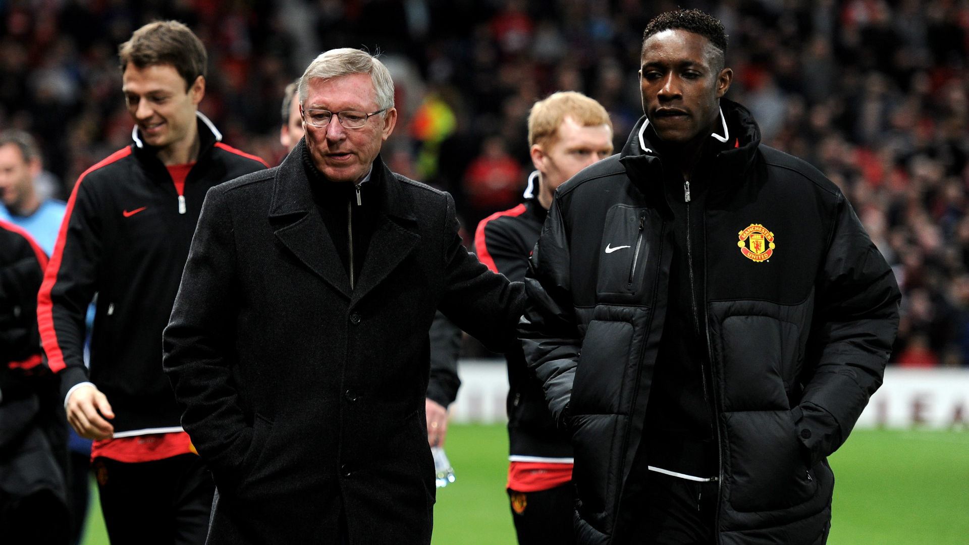 Sir Alex Ferguson, Danny Welbeck, Manchester United, Europa League, 02232012