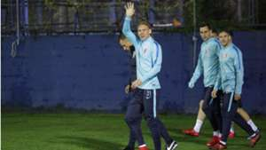 Domagoj Vida Croatia training 06112017