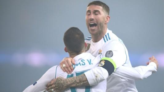 Sergio Ramos Lucas Vázquez Real Madrid Champions League