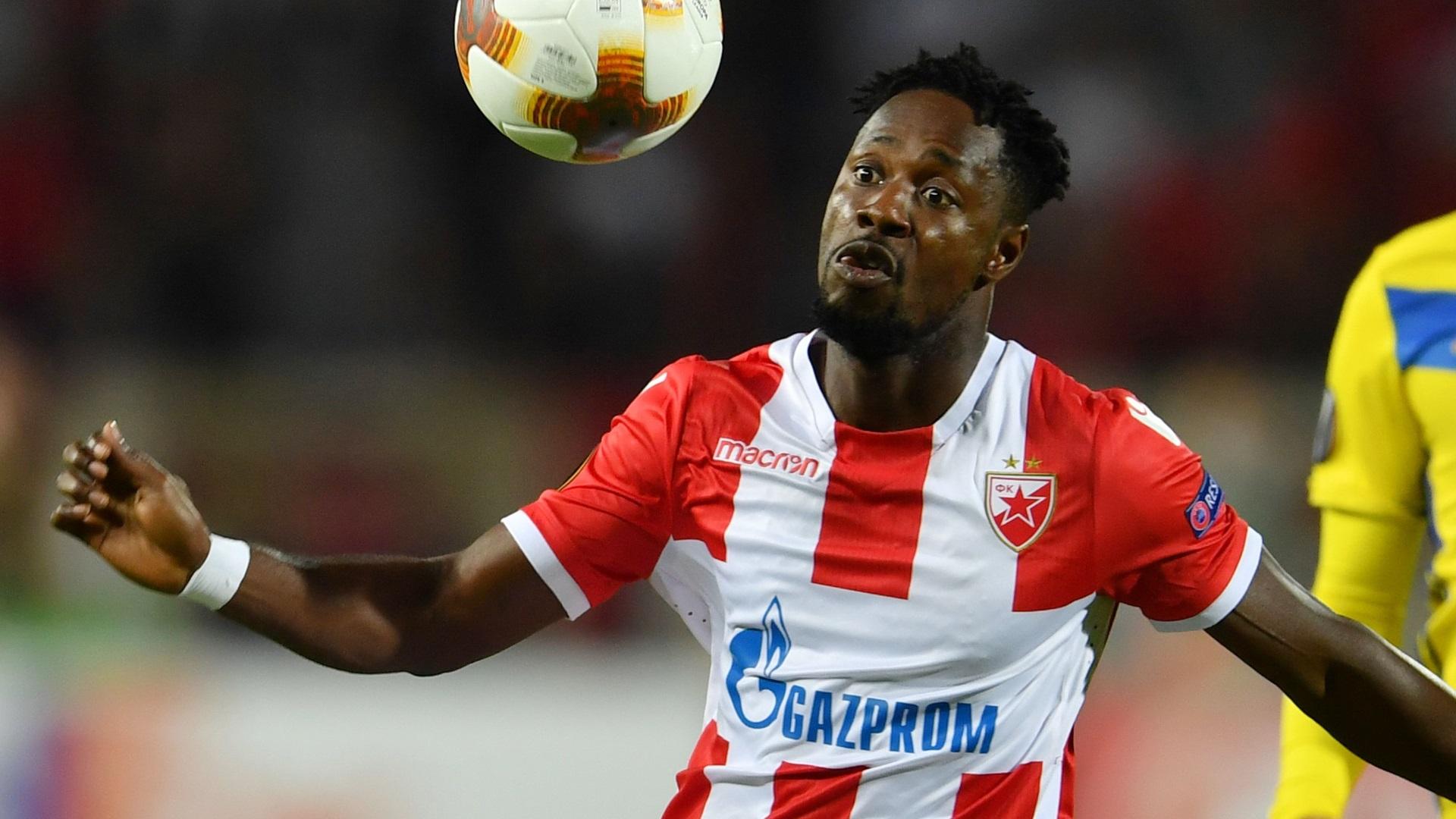 Richmond Boakye of Red Star Belgrade