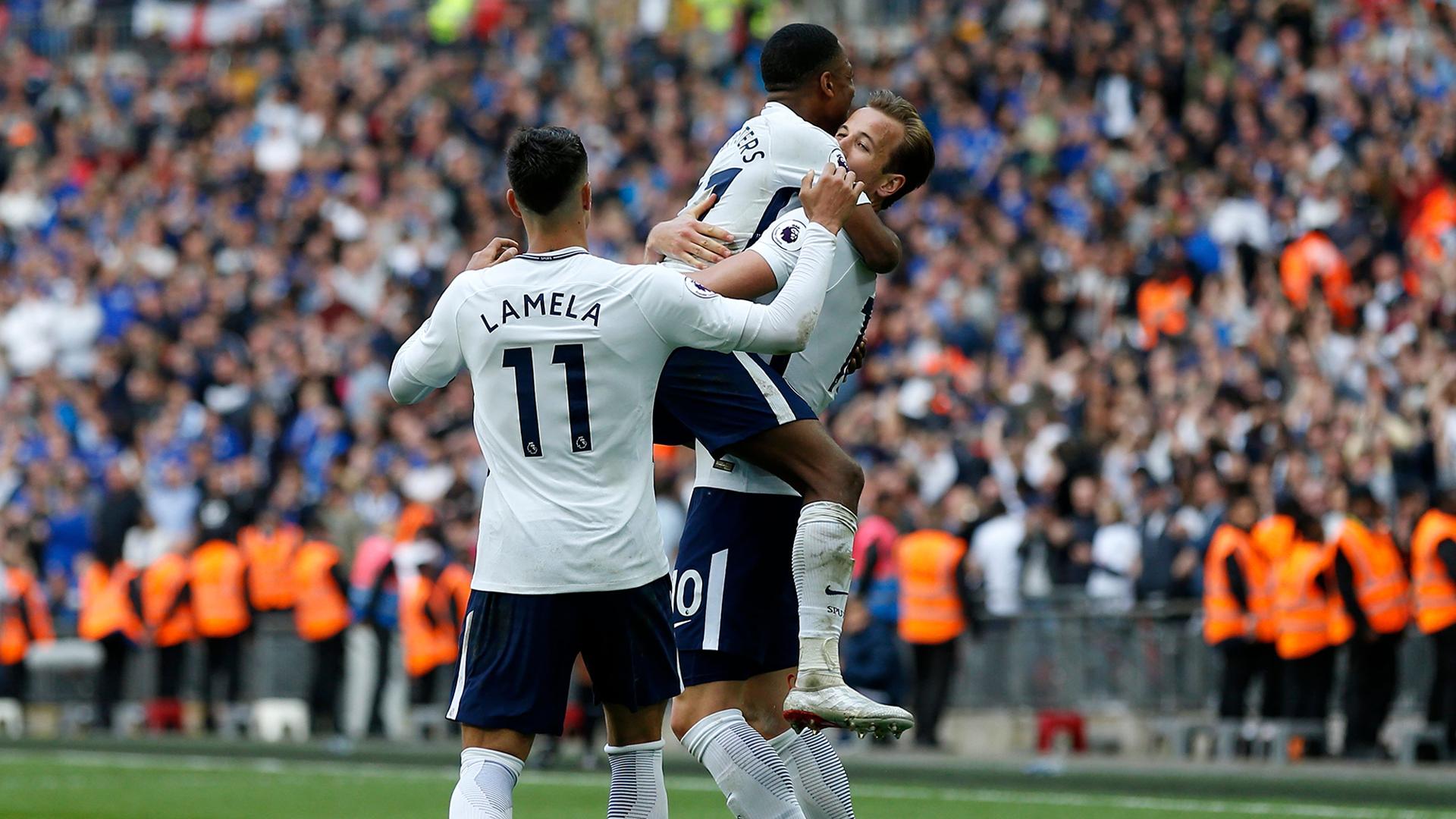 Tottenham Leicester 2017-18