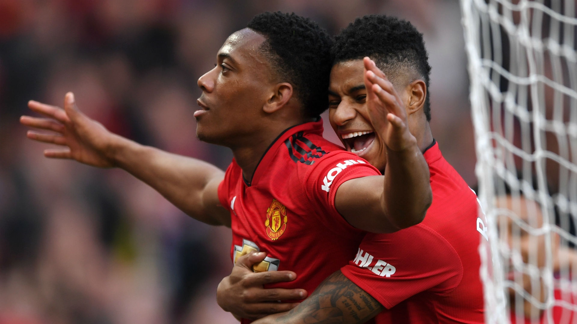 Anthony Martial Marcus Rashford Manchester United 300319