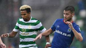 Scott Sinclair Celtic Stephen Lowry Linfield