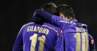 Alberto Gilardino Adrian Mutu Fiorentina