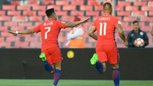 Alexis Sanchez Chile 2017