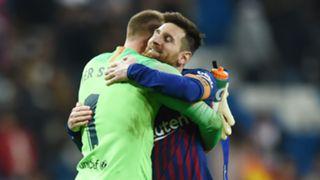 Lionel Messi Marc Andre Ter Stegen