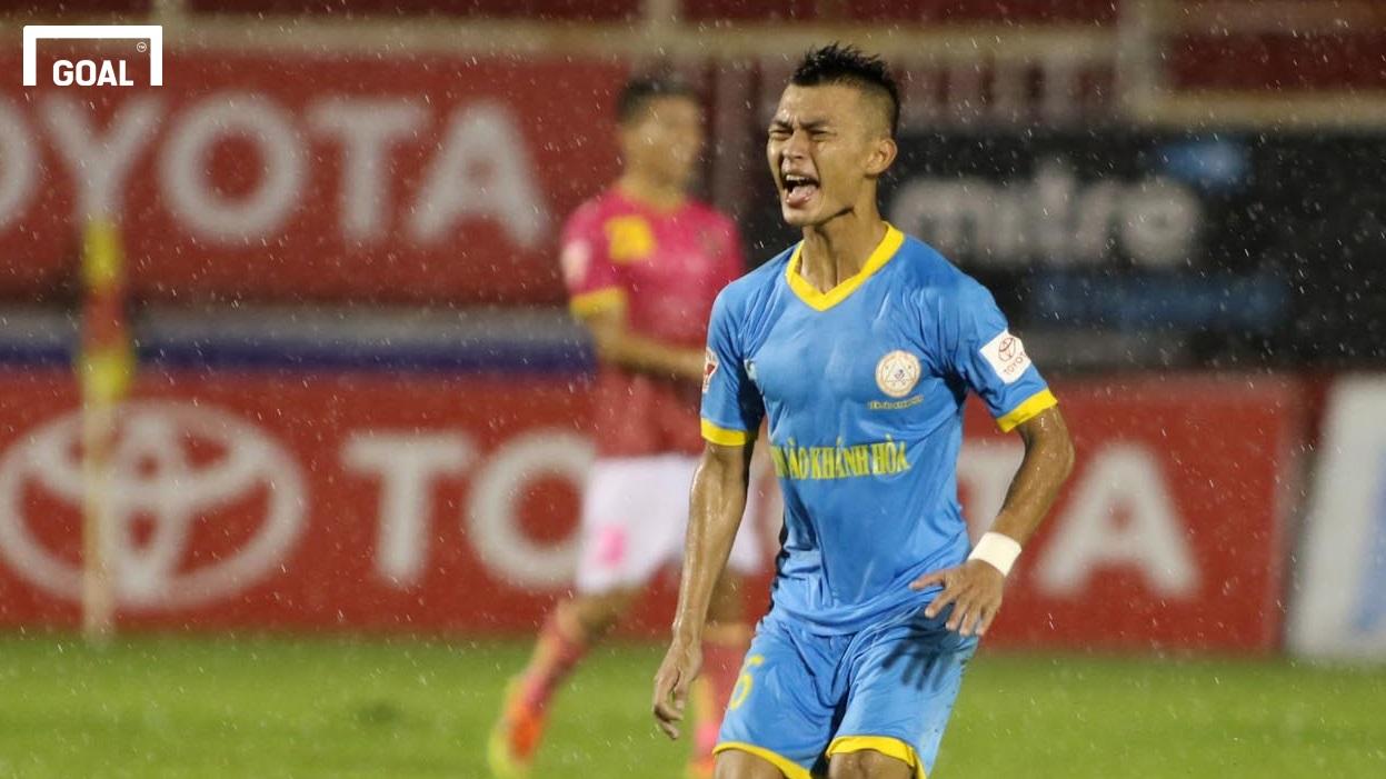Sài Gòn FC Sanna Khánh Hòa BVN Vòng 21 V.League 2017