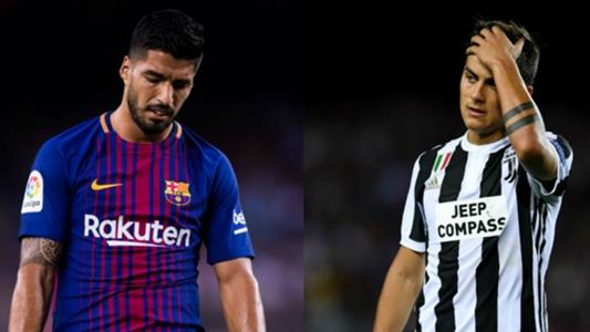 Dybala, Suarez & the worst strikers in this season's Champions League