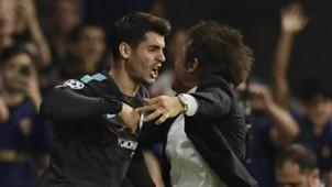 Alvaro Morata Antonio Conte Chelsea