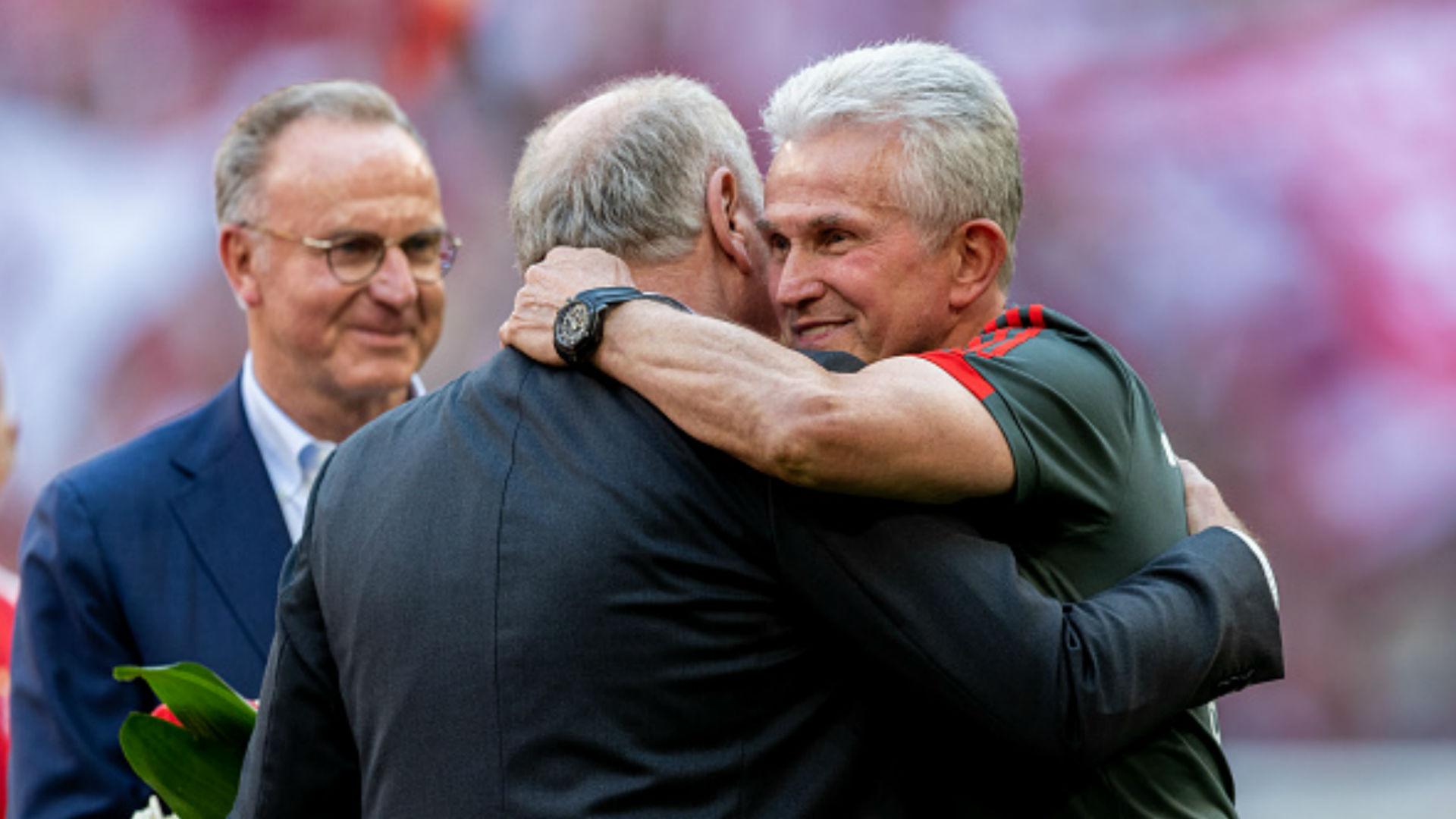 Uli Hoeneß Jupp Heynckes FC Bayern Bundesliga
