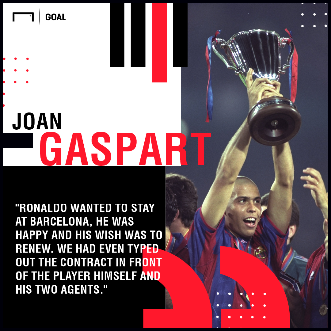 Ronaldo Gaspart Barcelona PS