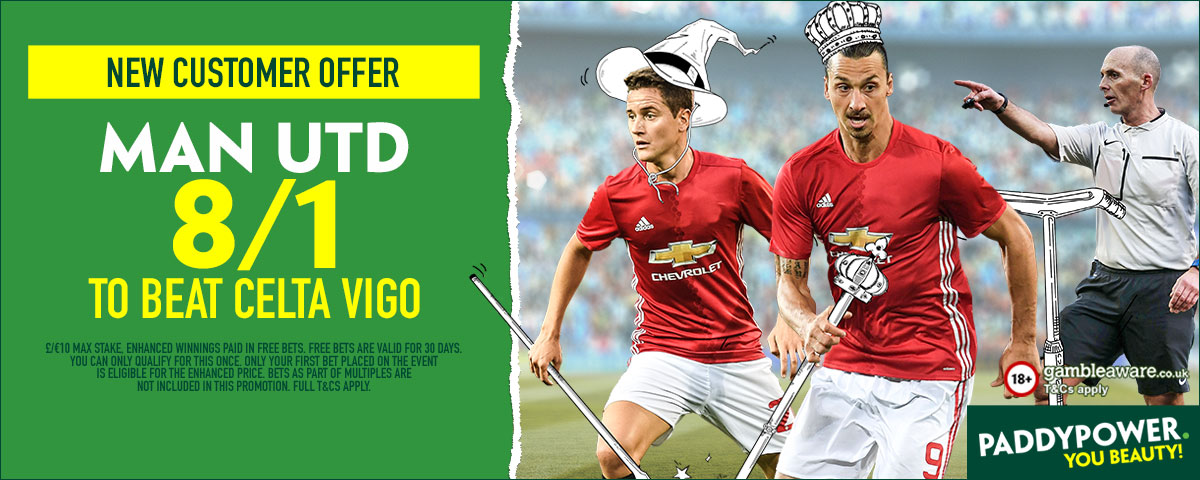 GFX Celta Vigo Man Utd enhanced betting