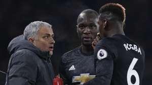 Jose Mourinho Paul Pogba Romelu Lukaku