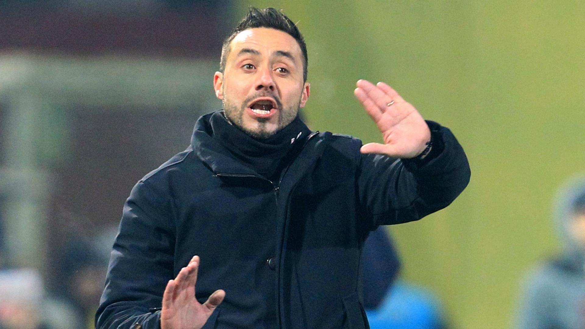 Roberto De Zerbi Benevento Napoli Serie A 02042018