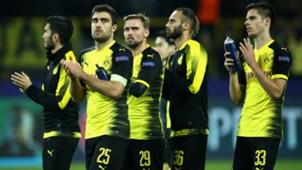 Sokratis Marcel Schmelzer Julian Weigl Borussia Dortmund APOEL