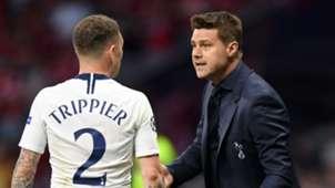 Pochettino Trippier Tottenham 2018