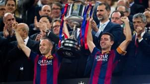 Iniesta Copa del Rey 2015