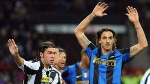 Zlatan Ibrahimovic Inter Mailand 2008